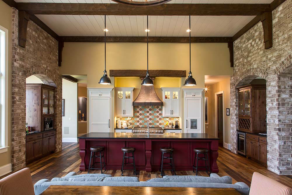 Bucks County Kitchen Island