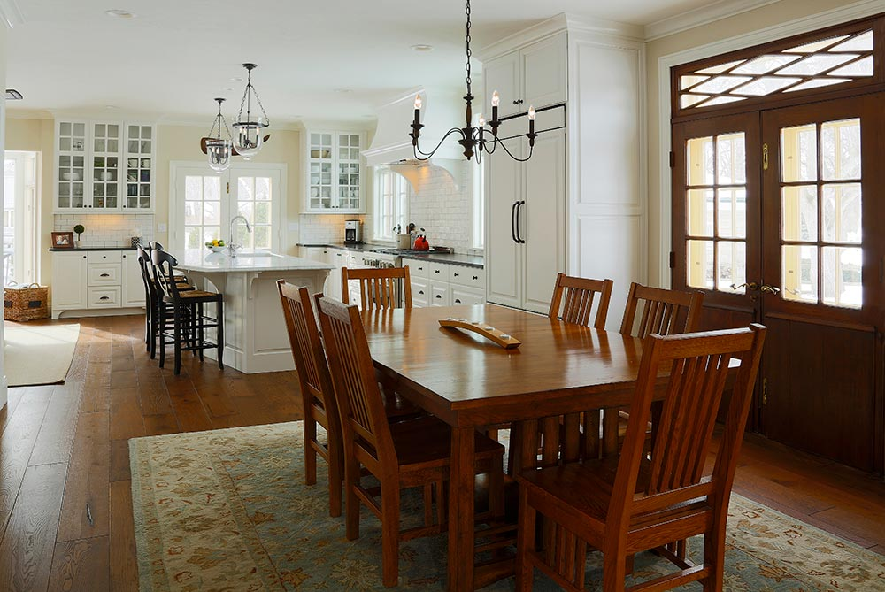 Classic Revival Dining Kitchen 1