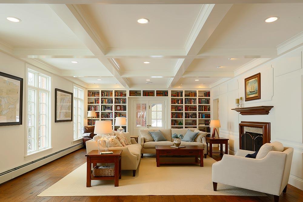 Classic Revival Living Room 1