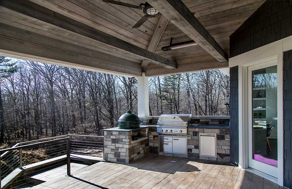 Copper Oaks Outdoor Kitchen