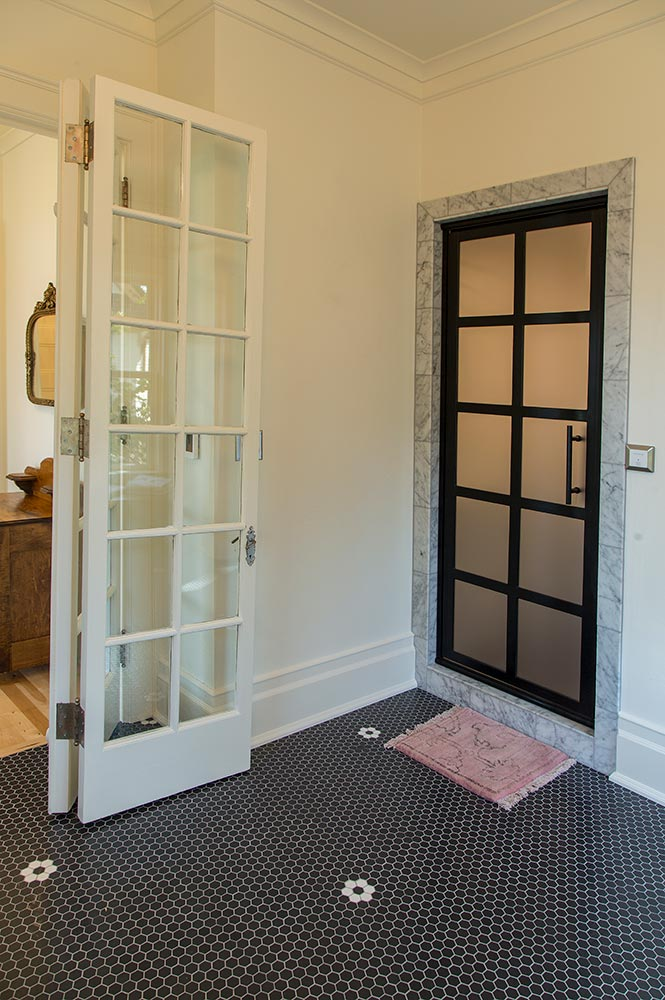 Historic Renovation Bath Doors