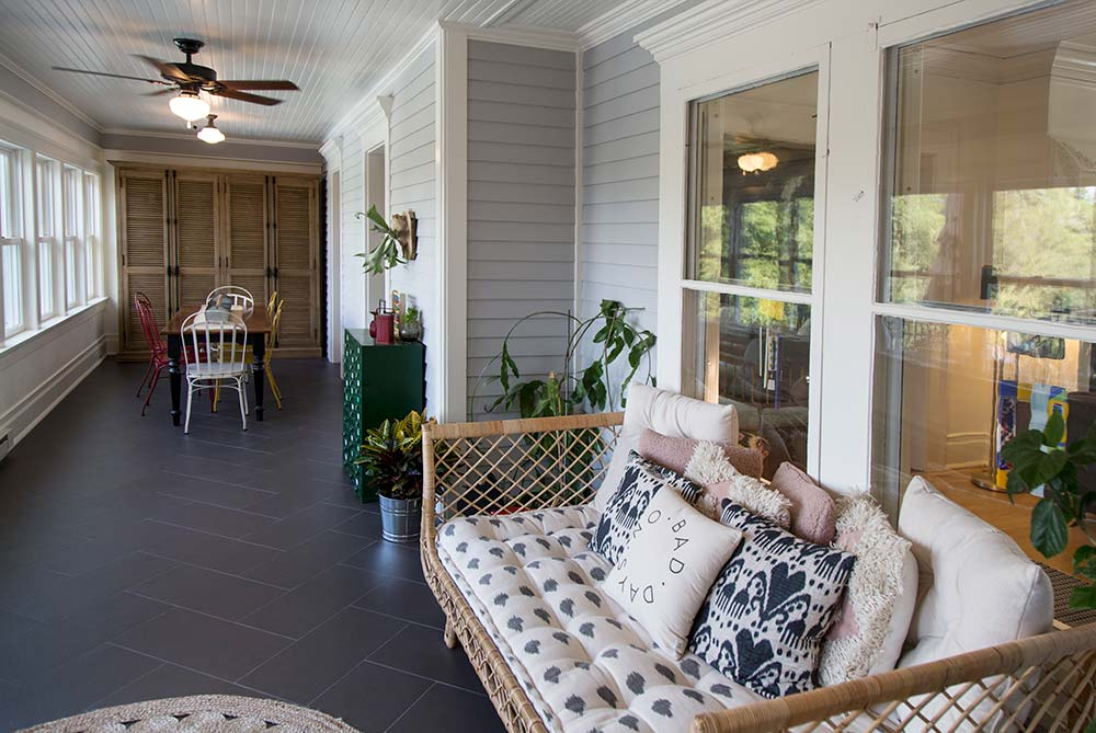 Historic Renovation Porch