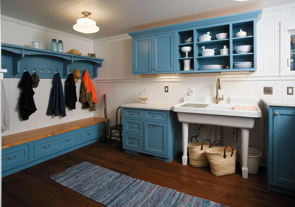 Manitowish Waters Mudroom