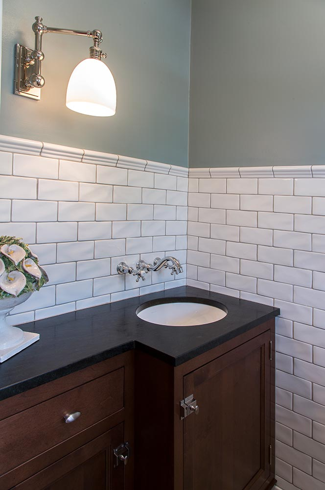 Vintage Kitchen Revision Bath
