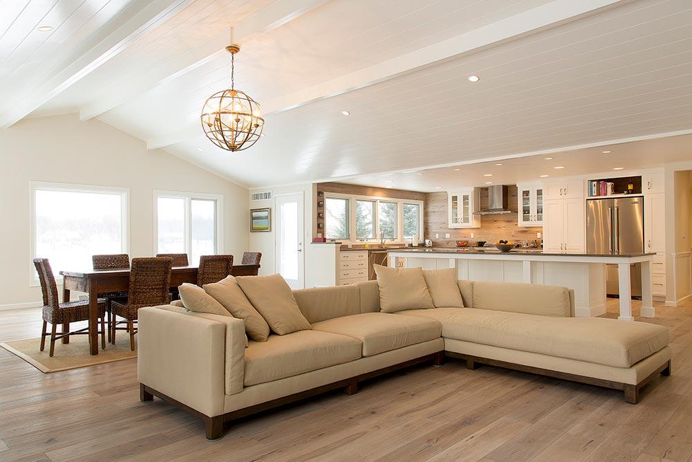 Beach House Renovation Living Room