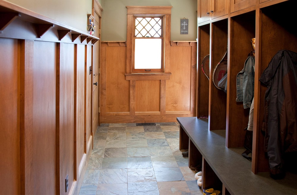 Historic Quincy Renovation Coat Room