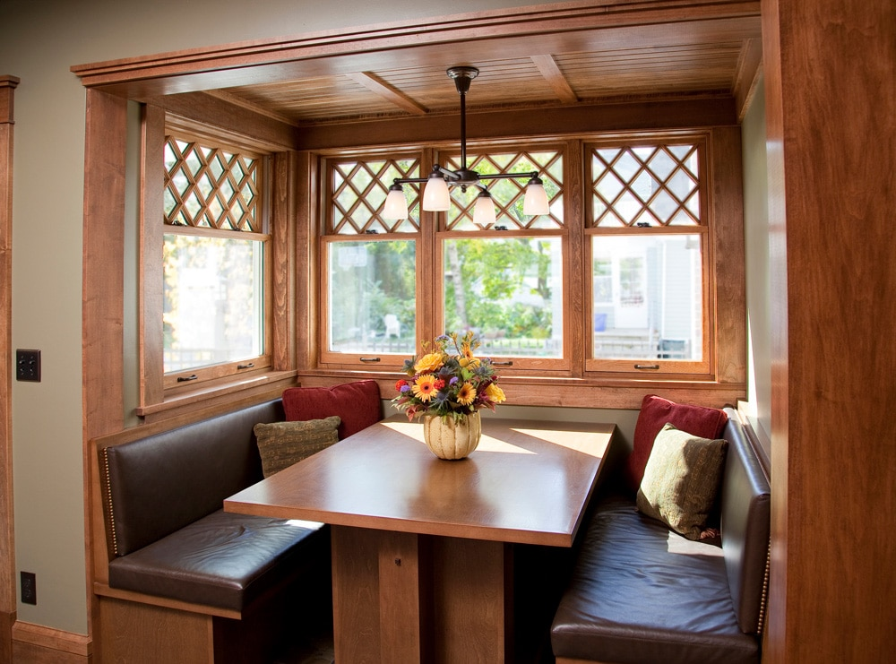 Historic Quincy Renovation Kitchen Nook