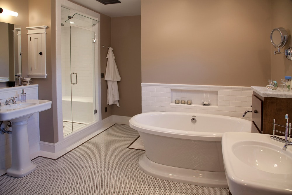 Historic Quincy Renovation Master Bath 2