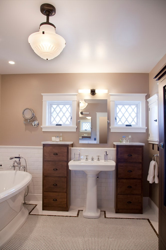 Historic Quincy Renovation Master Bath
