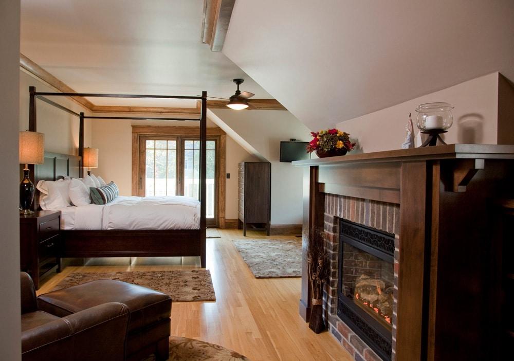 Historic Quincy Renovation Master Bedroom