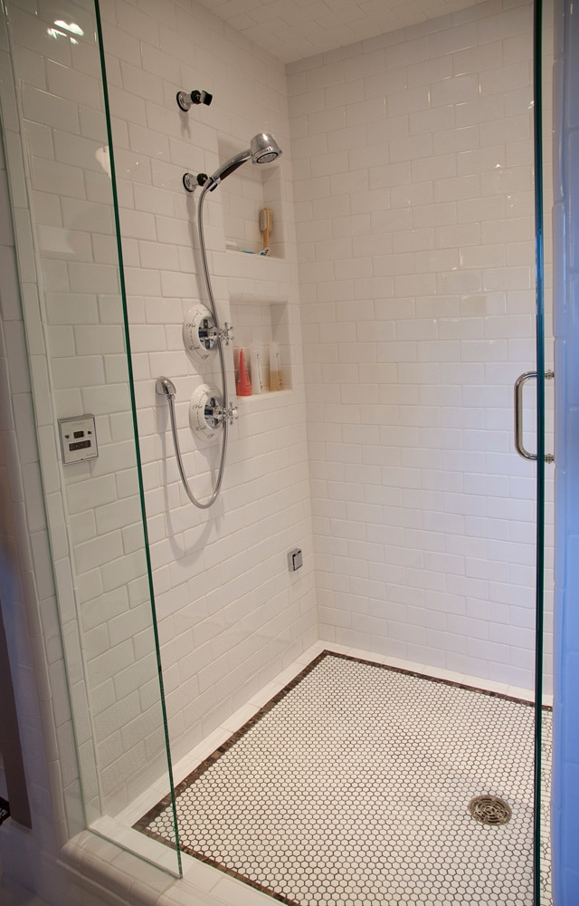 Historic Quincy Renovation Shower