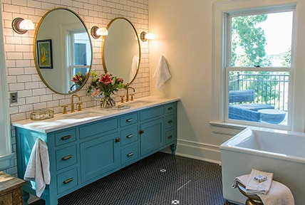 Historic Renovation Master Bath Preview