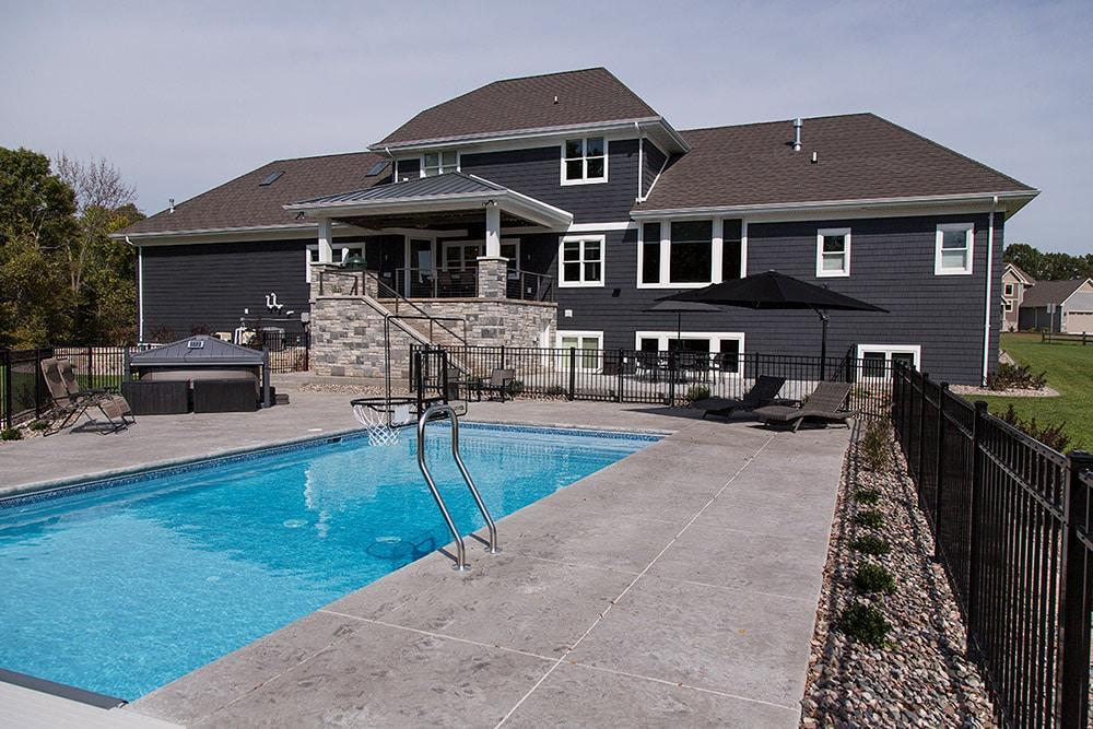 New Construction Copper Oaks Exterior Pool
