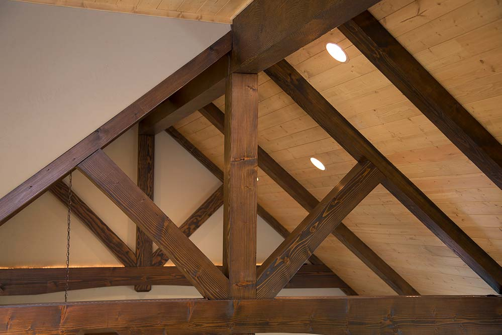 New Construction Lake Lucerne Retreat Ceiling