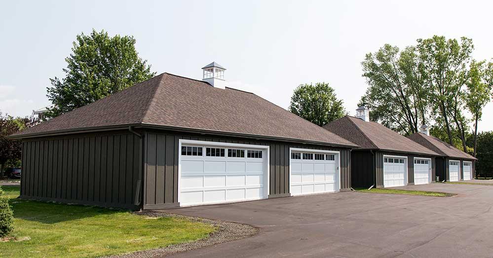 New Construction Pelican Landing Garages