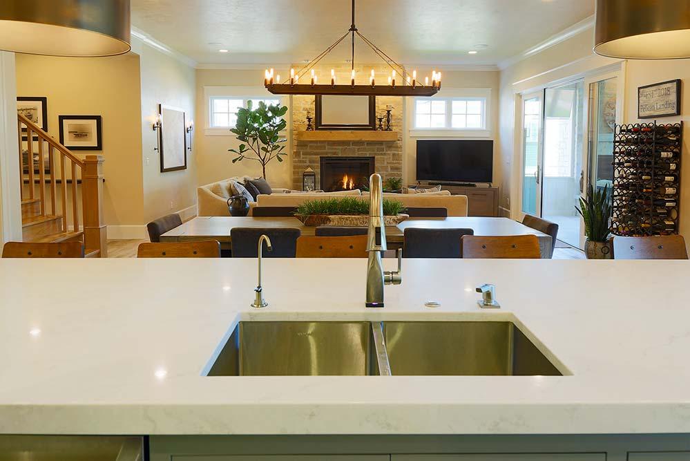 New Construction Pelican Landing Living Room 3