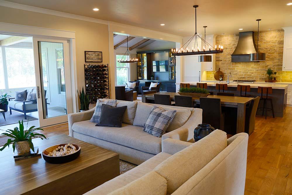 New Construction Pelican Landing Living Room 4