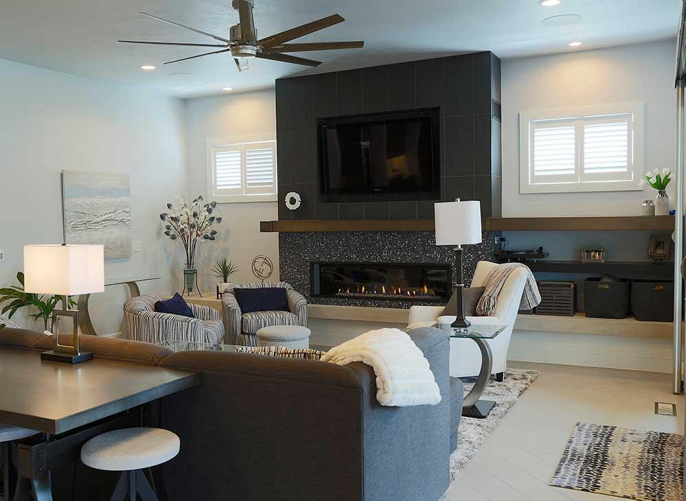 New Construction Pelican Landing Living Room