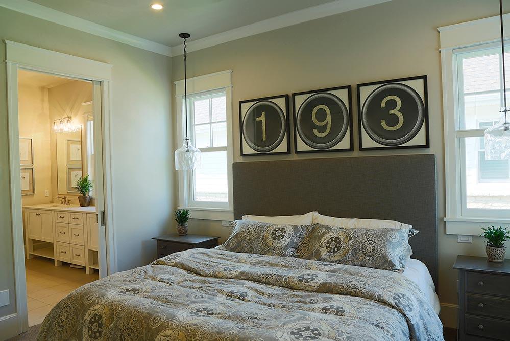 New Construction Pelican Landing Master Bedroom
