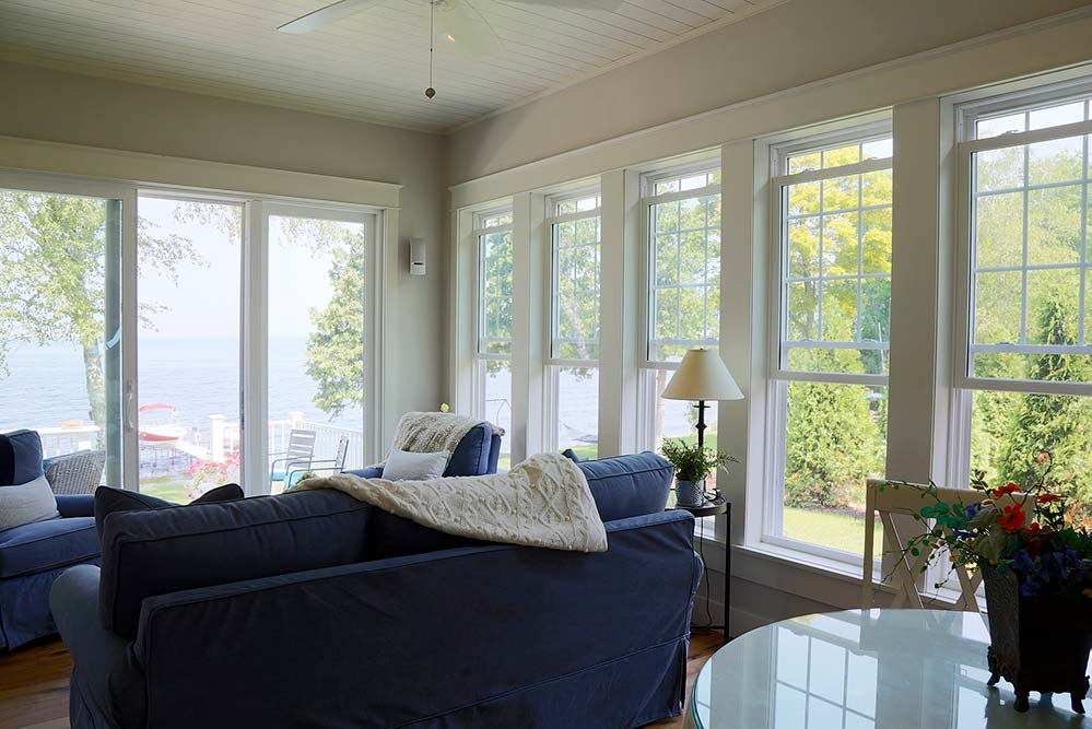 New Construction Whitecliff Cottage Sunroom